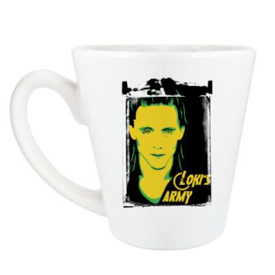 Чашка Латте Мстители . Армия Локи