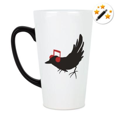 Кружка-хамелеон 'bird'