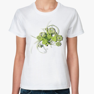 Классическая футболка Зелень