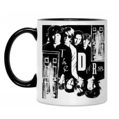 Кружка The Doors #2 Кружка бел/чёрн