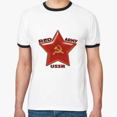 Футболка Ringer-T Red army USSR