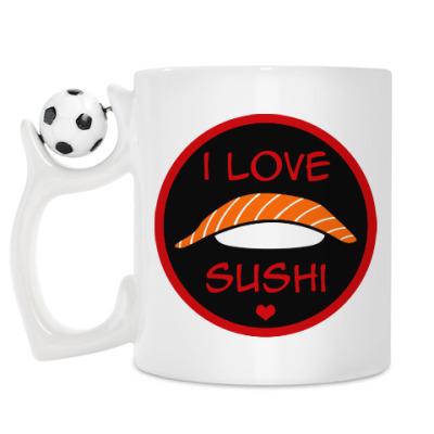 Кружка Я люблю суши