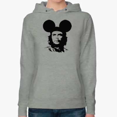 Женская толстовка худи  Mickey Mouse Che Guevara