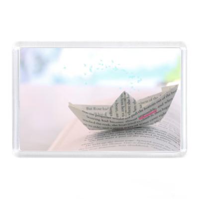 Магнит Кораблик из бумаги