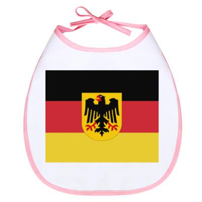 Слюнявчик Немецкий флаг
