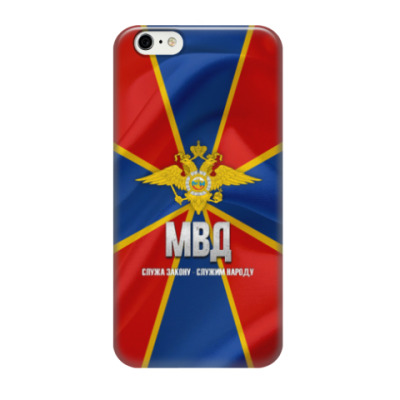 Чехол для iPhone 6/6s МВД России