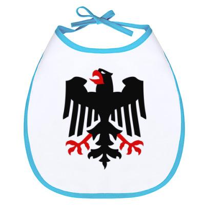 Слюнявчик Немецкий герб