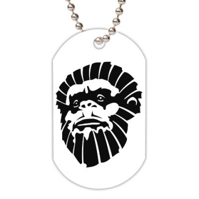 Жетон dog-tag Лицо обезьяны