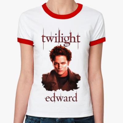 Женская футболка Ringer-T Edward