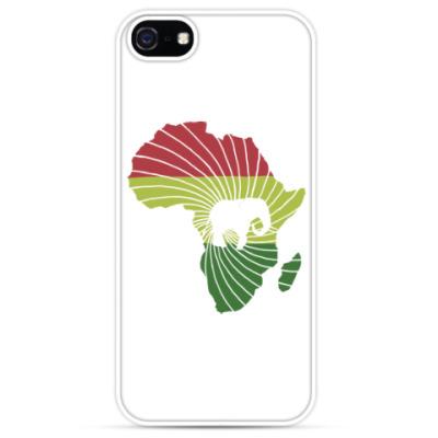 Чехол для iPhone Африканский слон