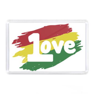 Магнит 1 Love