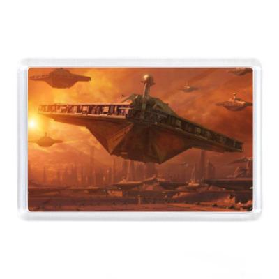Магнит ик - Космический корабль
