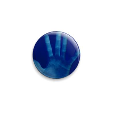 Значок 25мм  Negativ Hand