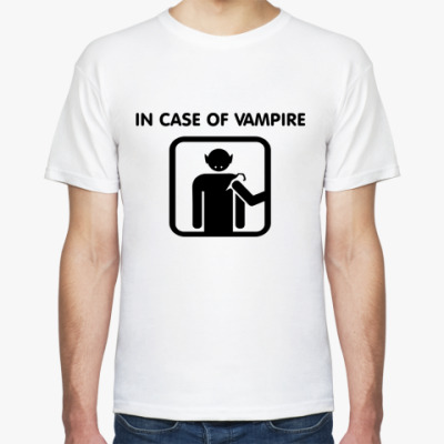 Футболка In Case Of Vampire