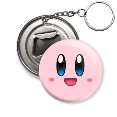 Брелок-открывашка Kirby