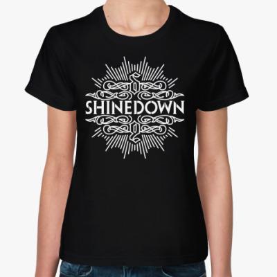 Женская футболка Shinedown