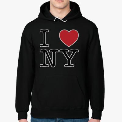 Толстовка худи I love NY