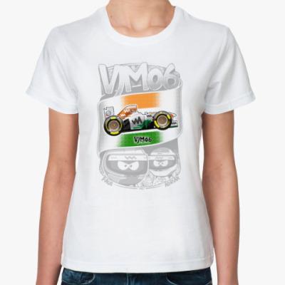 Классическая футболка VM06