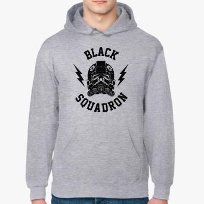 Толстовка худи Black Squadron