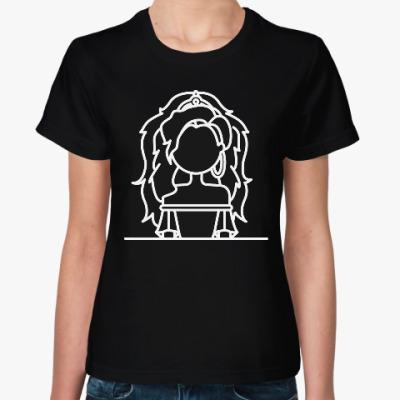 Женская футболка Эсмеральда