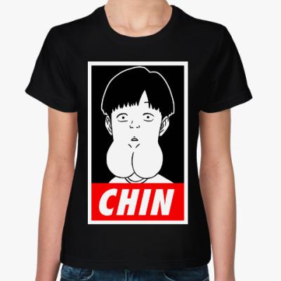 Женская футболка Китайский мальчий