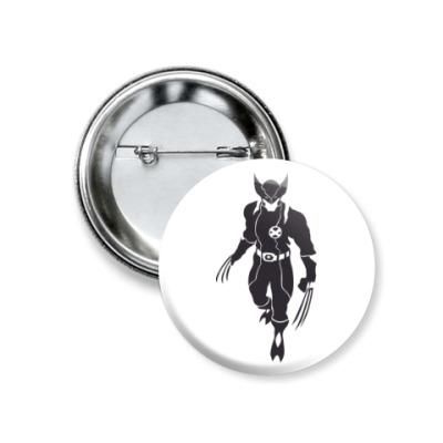 Значок 37мм Wolverine