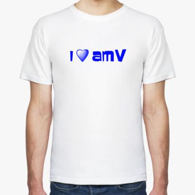 Футболка Люблю AMV