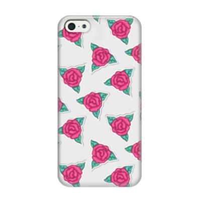Чехол для iPhone 5/5s 'Фестиваль роз'