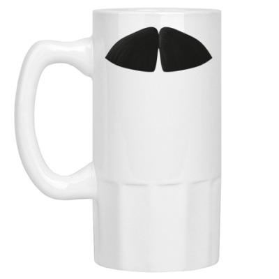 Пивная кружка Усы