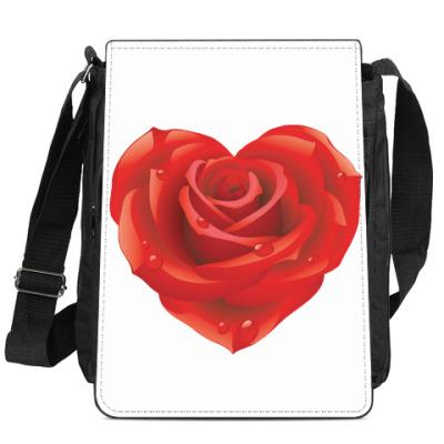 Сумка-планшет I love you - Любовь в сердце