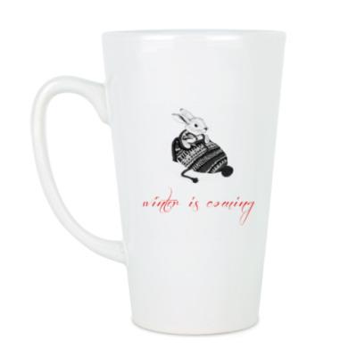 Чашка Латте Зима близко