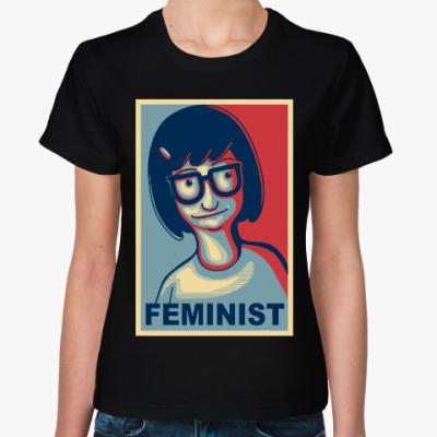 Женская футболка Тина Белчер (Закусочная Боба)