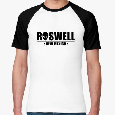 Футболка реглан Roswell