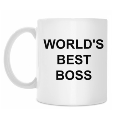 Кружка World's Best Boss