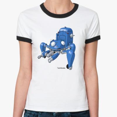 Женская футболка Ringer-T призрак в доспехах