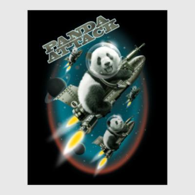 Постер Панды атакуют