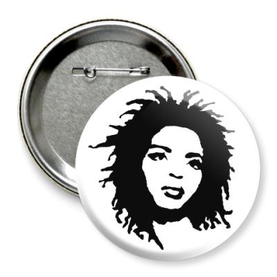 Значок 75мм Lauryn Hill