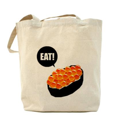 Сумка Eat Sushi Холщовая сумка