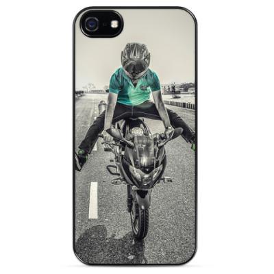 Чехол для iPhone Мотоциклист