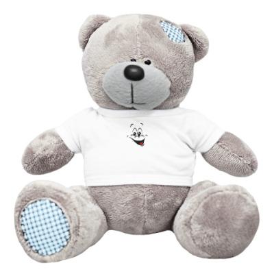 Плюшевый мишка Тедди Веселый смайл