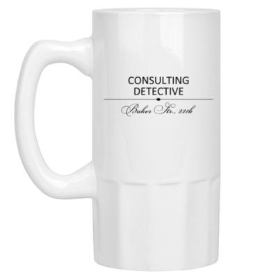 Пивная кружка Consulting Detective