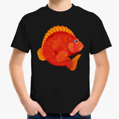 Детская футболка Морской окунь