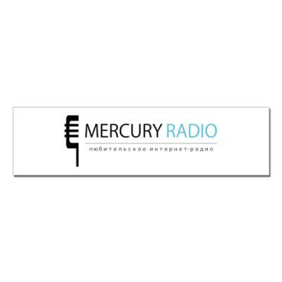 Наклейка (стикер)  Mercury Radio