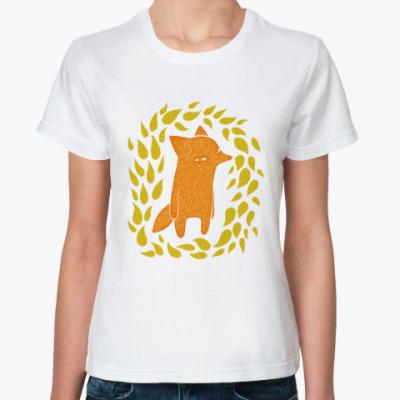 Классическая футболка Лисик