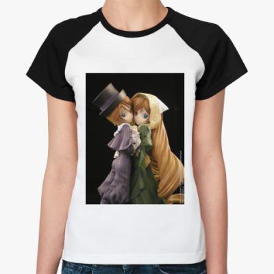 Женская футболка реглан  Rozen Maiden Ж