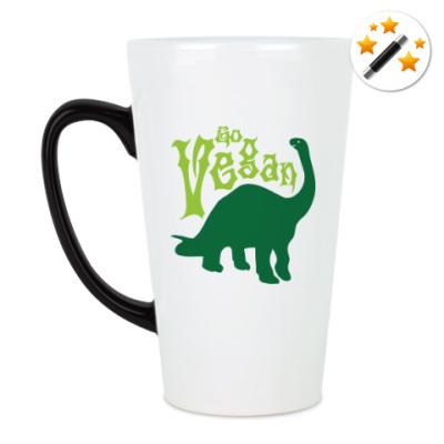 Кружка-хамелеон Go Vegan