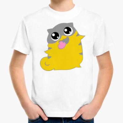 Детская футболка  boggart cat