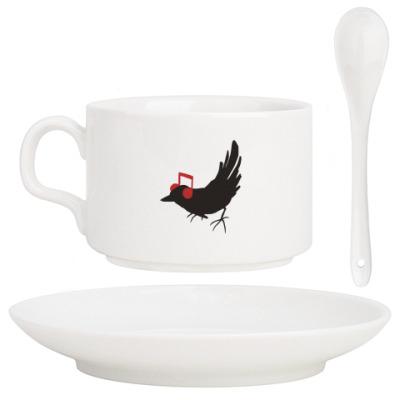 Кофейный набор 'bird'