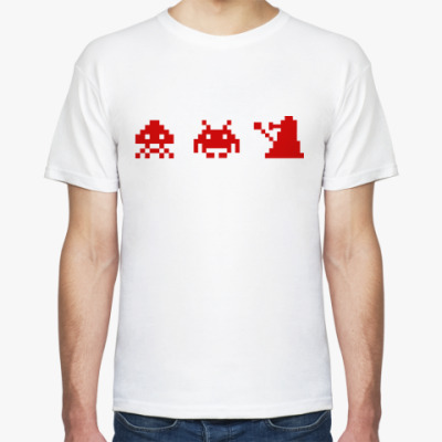 Футболка Dalek & Space Invaders