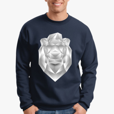 Свитшот Polygonal Lion